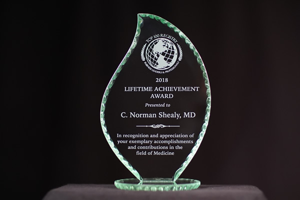 2018 Lifetime Achievement Award