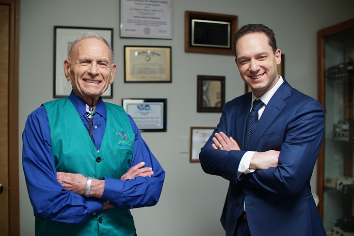 Dr. C. Norman Shealy & Dr. Sergey Sorin