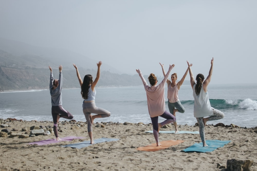This class of yogis has discovered how to alleviate anxiety.